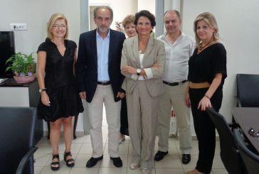 Συνάντηση Κατσιφάρα με την Υπουργό Τουρισμού Άλκηστις Πρωτοψάλτη