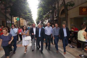 Επίσκεψη Χατζηδάκη στο Αγρίνιο (φωτό- video)