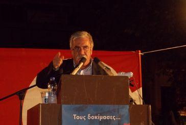 Δ.Αρβανιτάκης: «Μόνη επιλογή για τον λαό το ΚΚΕ»