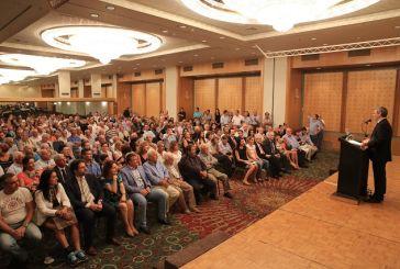 Πλήθος κόσμου στην ομιλία Καραγκούνη στους ετεροδημότες