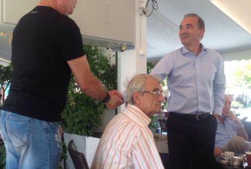 Επίσκεψη Μ. Σαλμά στο Μεσολόγγι
