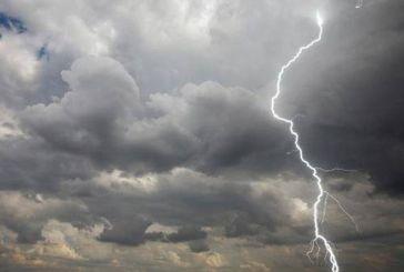 Έκτακτο δελτίο καιρού: Καταιγίδες και θυελλώδεις άνεμοι