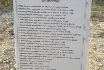 ΠΕΑΕΑ-ΔΣΕ: λίστα  πατριωτών που εκτελέστηκαν στο Μεσολόγγι