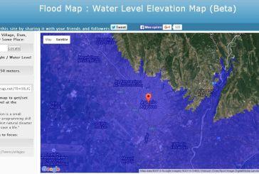 Εφαρμογή-σενάριο συνωμοσίας: Δείτε πόσο πρέπει να ανέβει η στάθμη του νερού για να καλυφθεί Αγρίνιο-Αιτωλοακαρνανία
