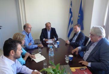 Διαρκής και στενή συνεργασία της Περιφέρειας με το Ταμείο Παρακαταθηκών και Δανείων