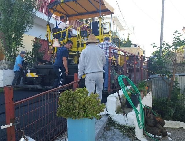 Ικανοποίηση στο δήμο Μεσολογγίου για τα έργα στο οδικό επαρχιακό οδικό
