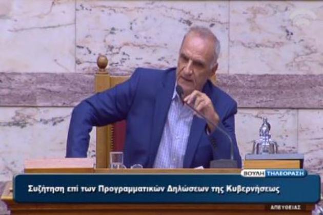 """Βαρεμένος: """"Οι Έλληνες Πόντιοι μας υπενθυμίζουν τα αίτια των μαζικών εγκλημάτων και καταστροφών"""""""