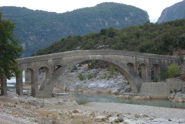 Eγκρίθηκε η αποκατάσταση των ιστορικών γεφυριών Τέμπλας και Αυλακίου