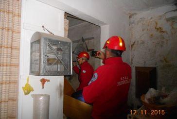 Κλιμάκιο της Ε.Ο.Ε.Δ. Μεσολογγίου στην σεισμόπληκτη Λευκάδα
