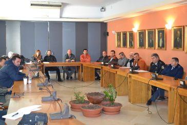 Σύσκεψη στο Αγρίνιο για την Πολιτική Προστασία