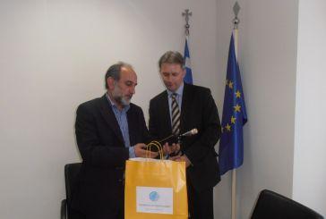 Αγροτικά προϊόντα και τουρισμός στη συνάντηση  Κατσιφάρα και Πρέσβη Ουγγαρίας
