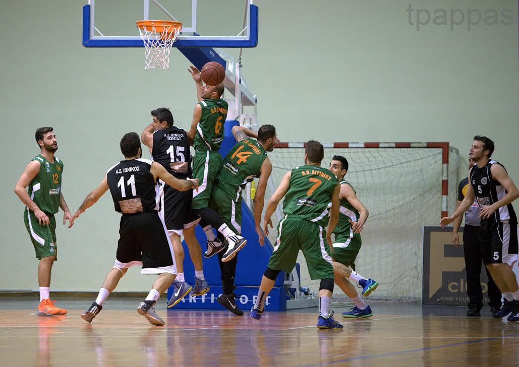 Β' Εθνική μπάσκετ: η κλήρωση για ΑΟ Αγρινίου και Χαρίλαο Τρικούπη