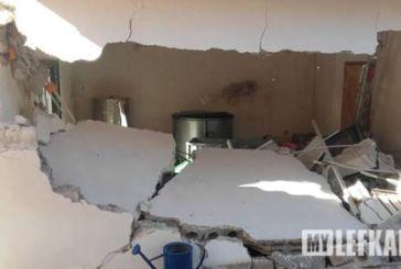Σοβαρές ζημιές στο Δράγανο από τον σεισμό [φωτο]