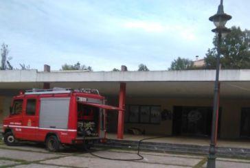 Κινητοποίηση για φωτιά στο κτίριο του πάρκου Αγρινίου