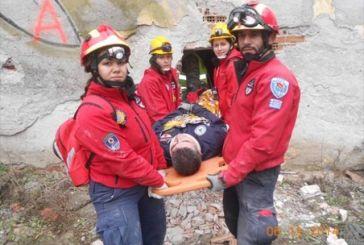 Η Εθελοντική Ομάδα Έρευνας Διάσωσης Μεσολογγίου στη Λευκάδα
