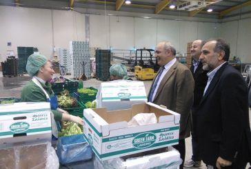 Σε πρότυπες καλλιέργειες της Δυτ.  Ελλάδας ο αν. Υπουργός Μ. Μπόλαρης και ο Απ. Κατσιφάρας