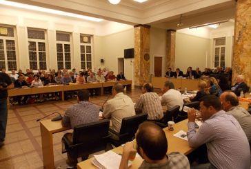 Η ημερήσια διάταξη του Δημοτικού Συμβουλίου Αγρινίου της 31ης Οκτωβρίου
