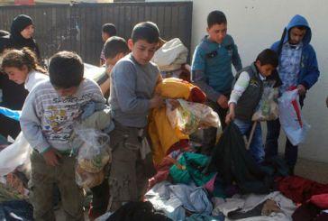 Μεσολόγγι: μεγάλη συμμετοχή στη συγκέντρωση ειδών πρώτης ανάγκης για τους πρόσφυγες