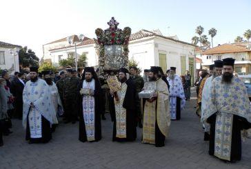 Εορτασμός του Πολιούχου Αγίου Σπυρίδωνος στο Μεσολόγγι