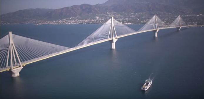 «Γενέθλια» για τη γέφυρα Ρίου-Αντιρρίου – κλείνει 12 χρόνια λειτουργίας με άνοδο στην κυκλοφορία της το α' εξάμηνο του '16