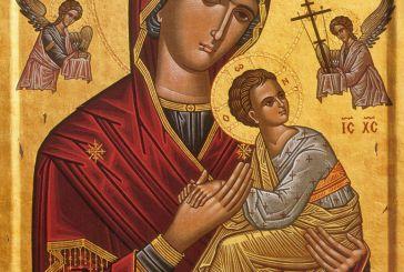 """Έλευση Θαυματουργού Ιεράς Εικόνας της """"Παναγίας Φοβεράς Προστασίας"""" στον Άγιο Αθανάσιο Κατούνας"""