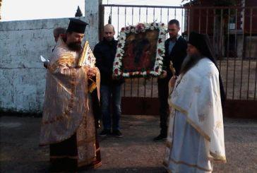 Γιορτάστηκε ο πολιούχος Άγιος Αθανάσιος στα Παλιάμπελα
