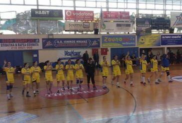 Επεισοδιακή… ισοπαλία με Νίκαια η γυναικεία ομάδα χάντμπολ του Ερασιτέχνη Παναιτωλικού