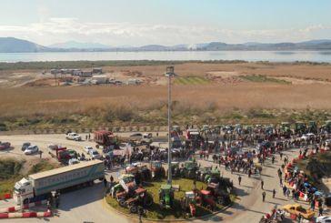 Εντυπωσιακές εικόνες από το αγροτικό συλλαλητήριο στο Κεφαλόβρυσο