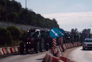 Δίωρο αγροτικό μπλόκο στο Κεφαλόβρυσο και αύριο Σάββατο και την Κυριακή
