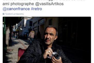 """Τα """"tweet"""" του Νίκου Αλιάγα από το Μεσολόγγι"""