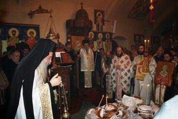 Εορτασμός του τοπικού Αγίου Βλασίου του Ακαρνάνος στα Σκλάβαινα Βόνιτσας
