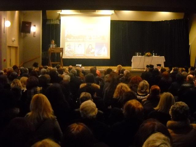 Ομιλία του π. Ματθαίου Χάλαρη στη Σχολή Γονέων στο Αγρίνιο