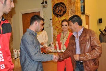 Τον αθλητή της Ελληνορωμαϊκής Πάλης Ανδρέα Παπαδόπουλο βράβευσε ο δήμος Αγρινίου