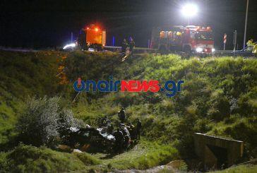 Εκτροπή αυτοκινήτου με έξι τραυματίες κοντά στη Σταμνά