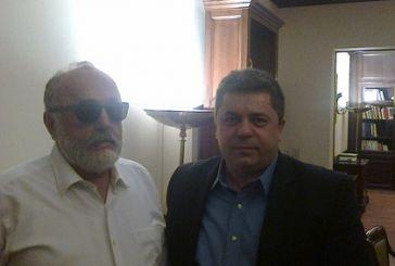 Συνάντηση του δημάρχου Αγράφων με τον Π. Κουρουμπλή