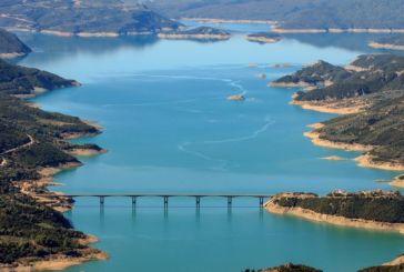 H κακοκαιρία αύξησε τις εισροές στη λίμνη ΥΕΣ Κρεμαστών