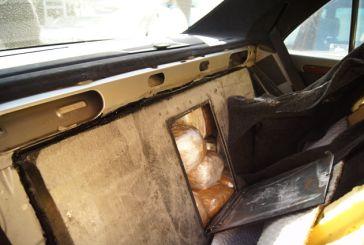 Mπλόκο στη Συκούλα σε 22 κιλά χασίς που μετέφεραν Αλβανοί