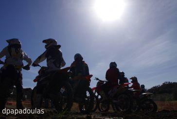 Πλούσιο θέαμα στην πίστα Moto Cross στο Μολύκρειο