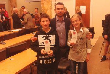 Βραβεύτηκαν δύο πρωταθλητές του Eurogym- Τίτορμος