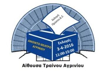 Aρχαιρεσίες στο Σωματείο «Ανοιχτό Θέατρο Αγρινίου»