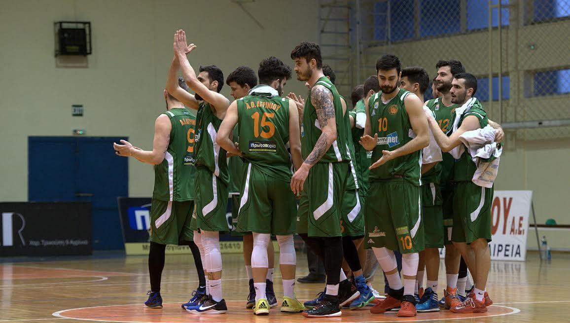 Μπάσκετ: Συνεχίζει αήττητος στην έδρα του ο ΑΟ Αγρινίου (φωτό)