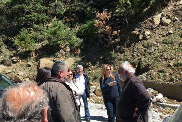 H Σταρακά στην Ορεινή Ναυπακτία σε έργα της Περιφέρειας