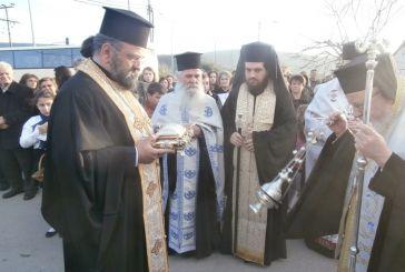 Υποδοχή αποτμήματος Ιερού Λειψάνου του Αγίου Μύρωνος στον Άγιο Νικόλαο Βόνιτσας