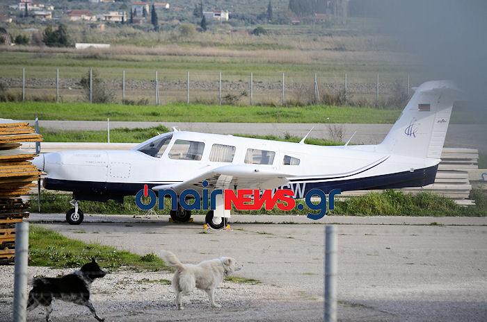 Το εξαθέσιο αεροσκάφος που θα μετέφερε τους μετανάστες στο εξωτερικό