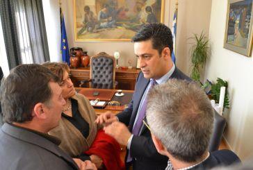 Το  πρόγραμμα Κοινωφελούς Εργασίας επι τάπητος στη συνάντηση Παπαναστασίου- Αντωνοπούλου