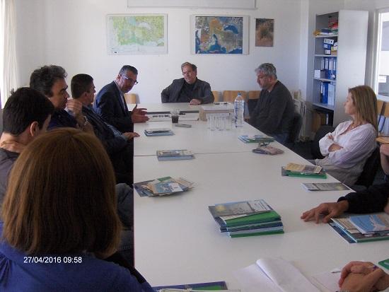Συνάντηση για τη συσσώρευση φυτοπλαγκτόν στη Λιμνοθάλασσα Αιτωλικού