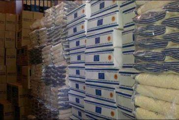 Επισιτιστική βοήθεια στα μέλη του Συλλόγου Τριτέκνων ενόψει Πάσχα