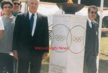 Πέρασαν 20 χρόνια από την πρώτη υποδοχή της Ολυμπιακής Φλόγας στο Μεσολόγγι