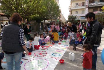 Let's Do It Greece: δράσεις μαθητών στην κεντρική πλατεία Αγρινίου