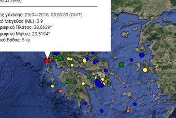 Σεισμός 3,9 ρίχτερ στη Λευκάδα